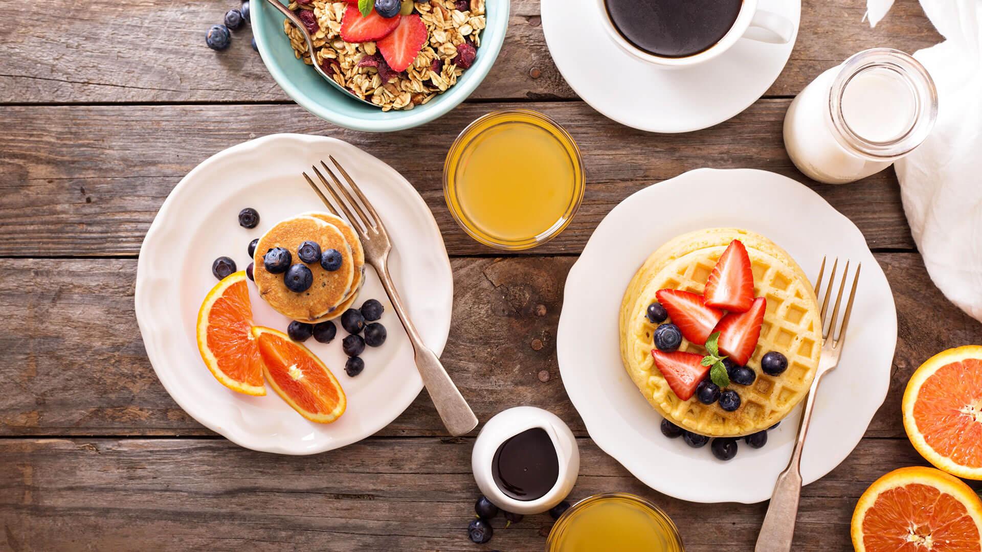 Café da manhã para quem treina à noite