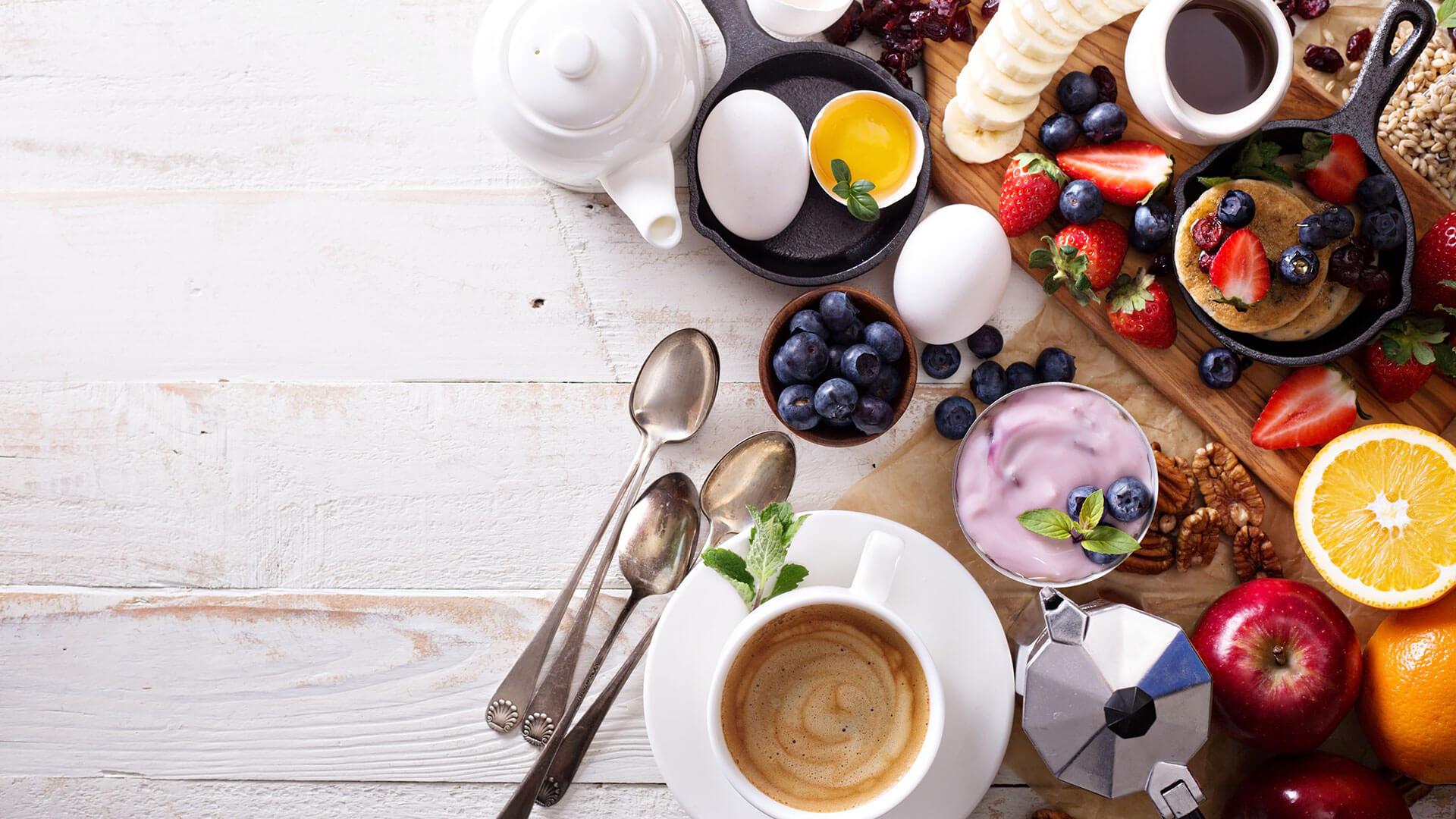 Café da manhã para quem treina logo cedo
