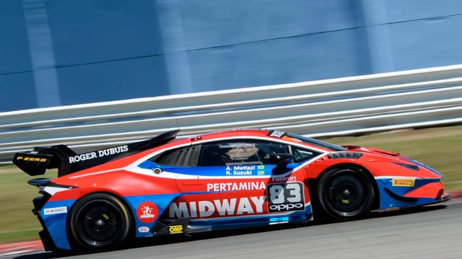 A Midway Labs assume o super troféu da Lamborghini