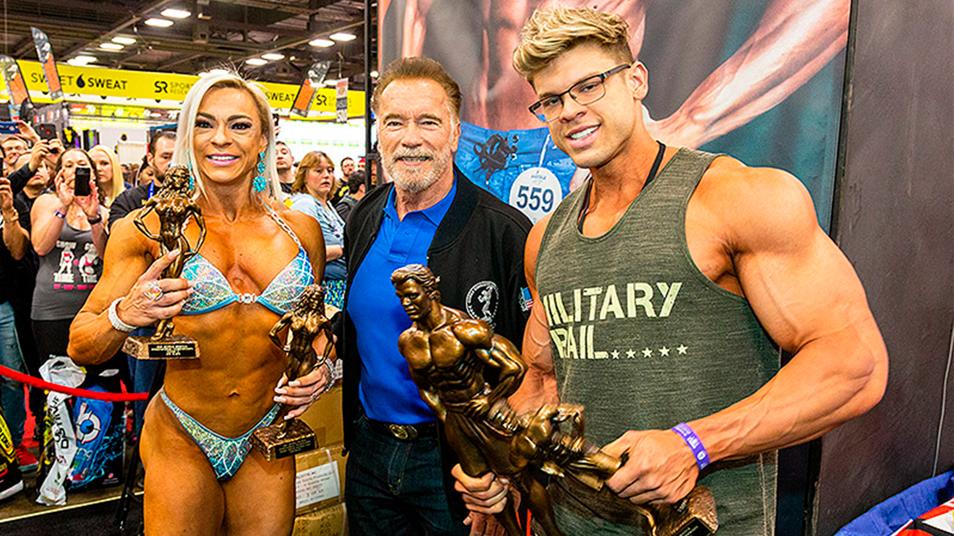 Midway patrocina o Arnold Classic Ohio