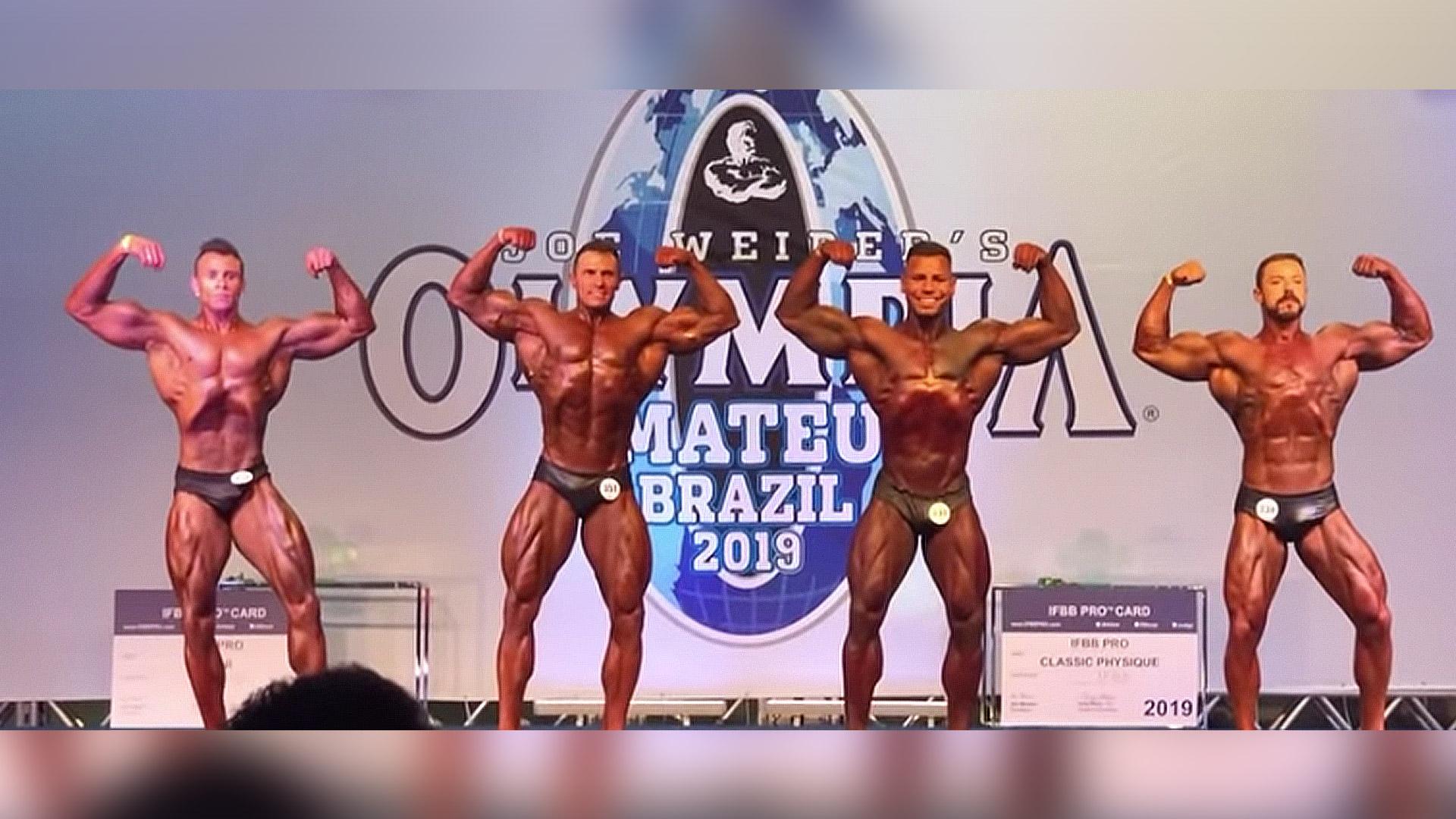 Atletas Military Trail se destacam no Olympia Brasil