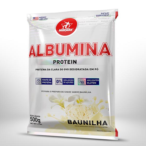 Albumina 500g  Baunilha