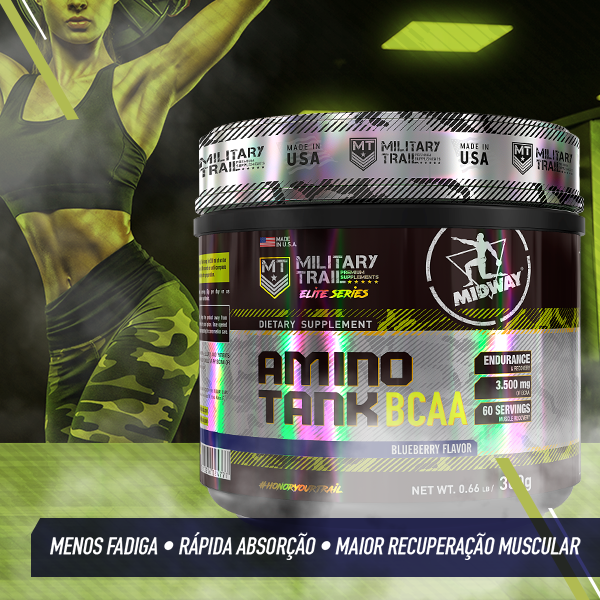 Amino Tank 300g  Blueberry