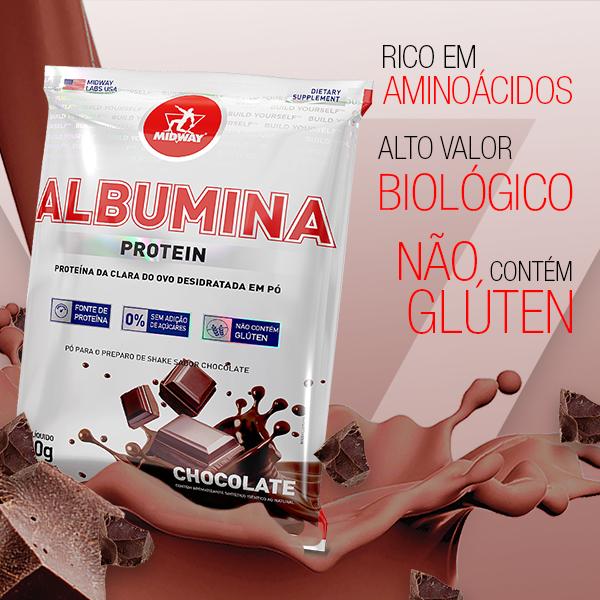 Albumina 500g  Chocolate