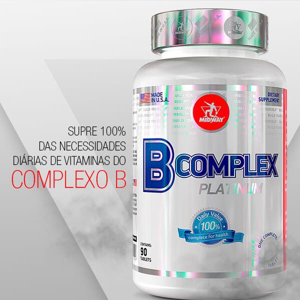 B-Complex 90 tablets  Sem sabor