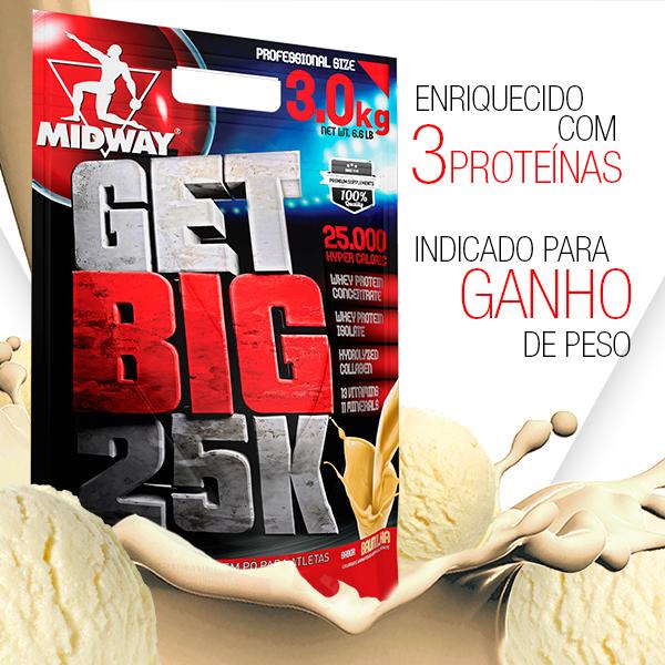 Get Big 3Kg  Baunilha
