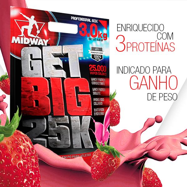 Get Big 3Kg  Morango