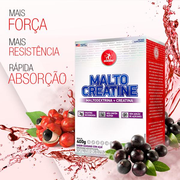 Malto Creatine 400g  Guaraná com Açaí