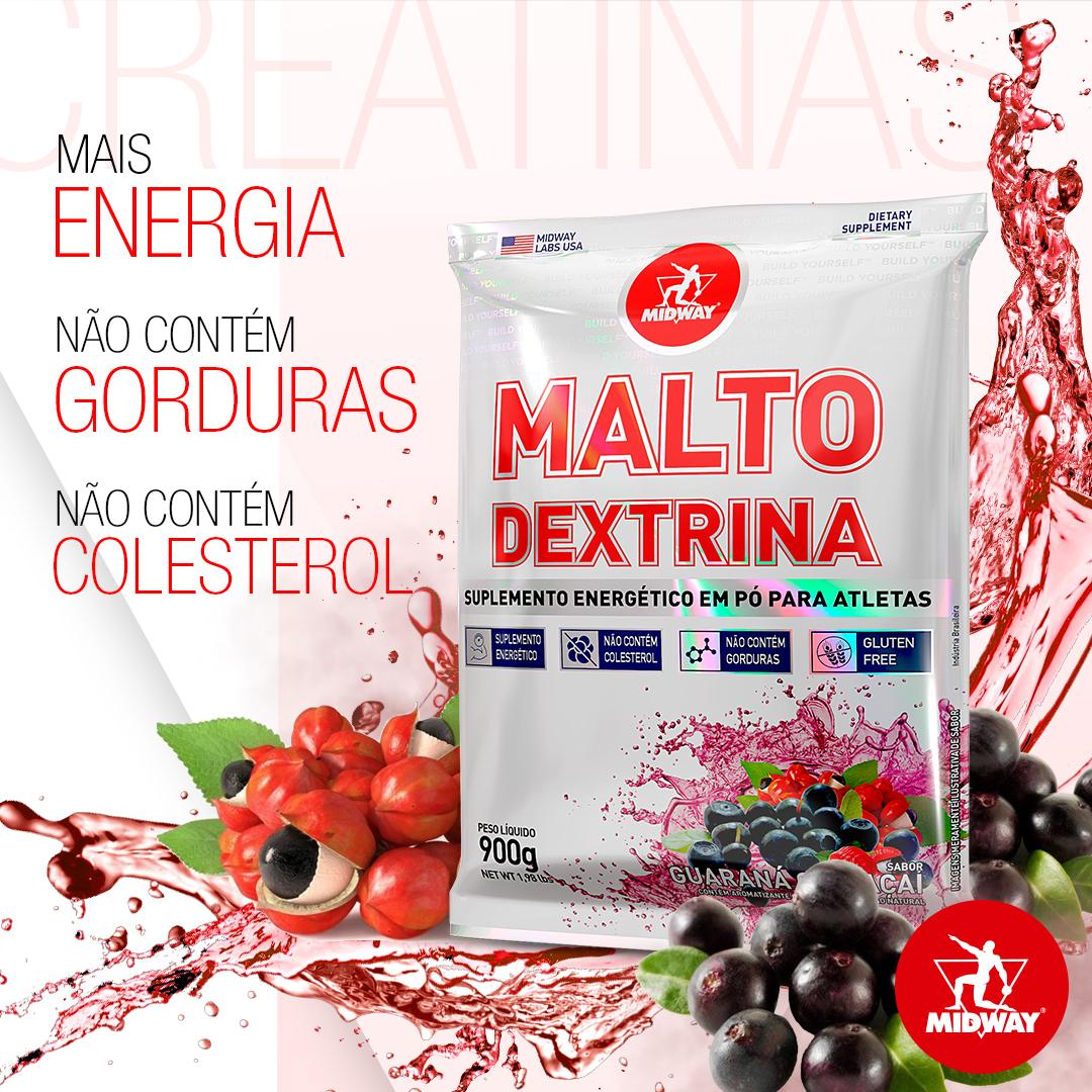 Maltodextrina 900g  Guaraná com Açaí