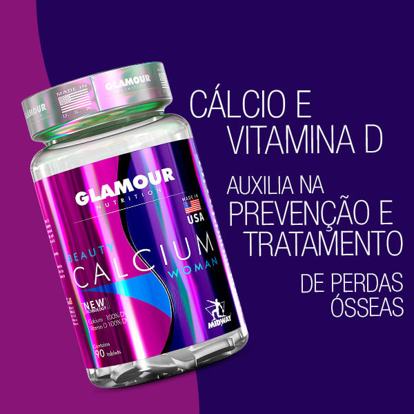 Beauty Calcium 90 tablets  Sem sabor