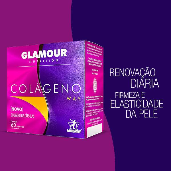 Colágeno Way 60 cápsulas  Sem sabor