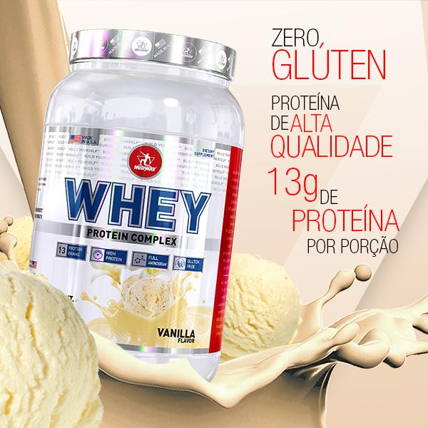 Whey Protein Complex 1Kg  Baunilha