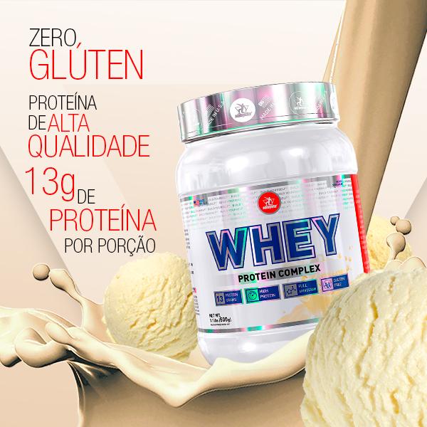 Whey Protein Complex 500g  Baunilha