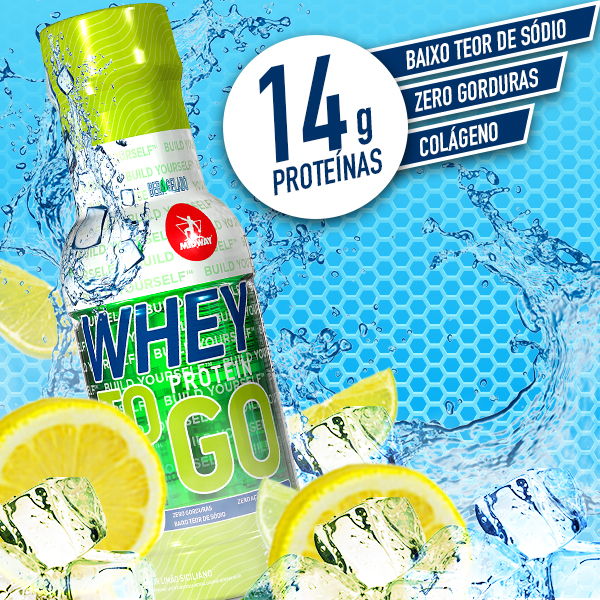 Whey to GO 300ml  Limão Siciliano