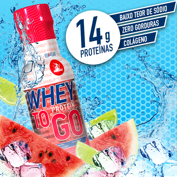 Whey to GO 300ml  Melancia e Limão