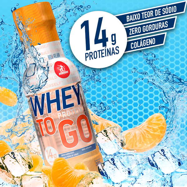 Whey to GO 300ml  Tangerina