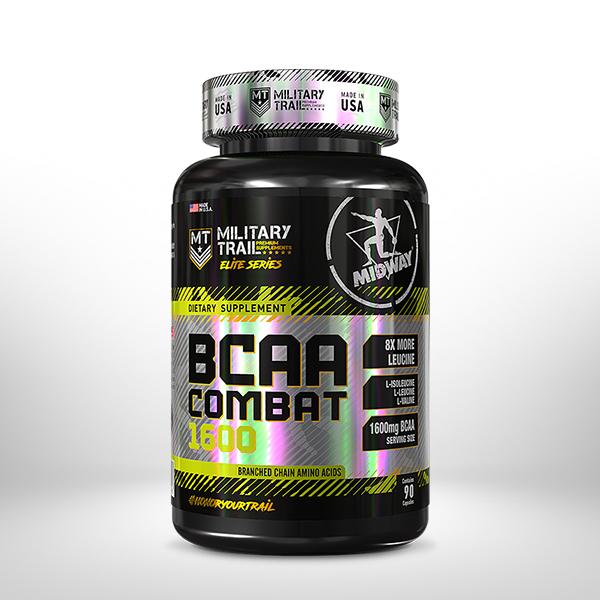 BCAA Combat 90 cápsulas  Sem sabor