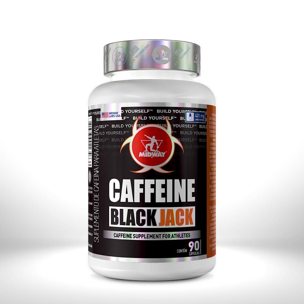 CAFFEINE BLACK JACK 90 cápsulas  Sem sabor
