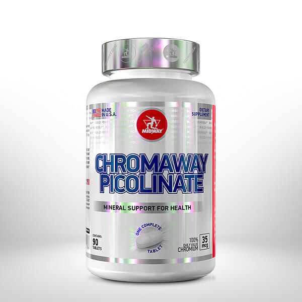 Chromaway Picolinate 90 tablets  Sem sabor