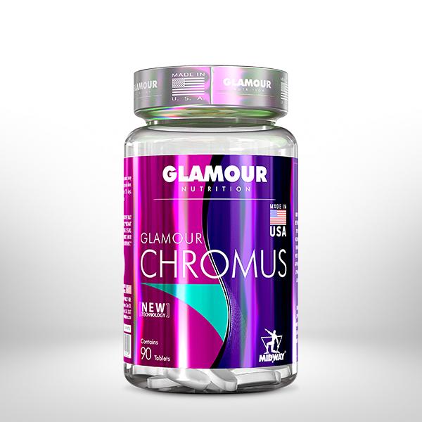 Chromus Glamour 90 tablets  Sem sabor