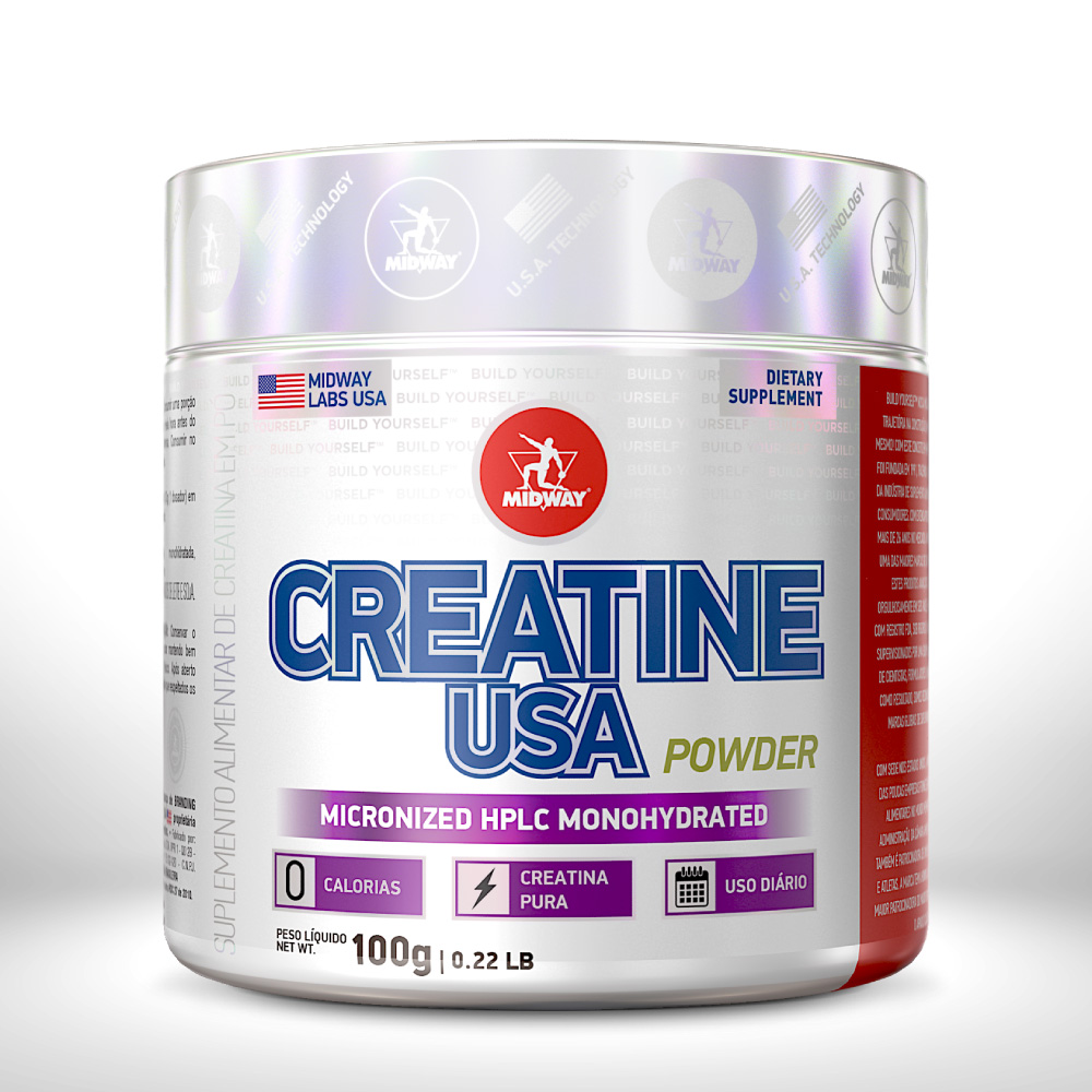 CREATINE USA POWDER 100 g  Sem sabor