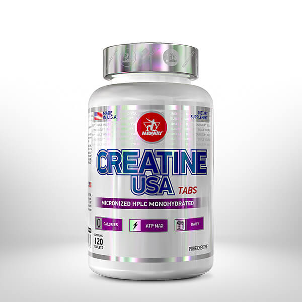 Creatina 120 tablets  Sem sabor