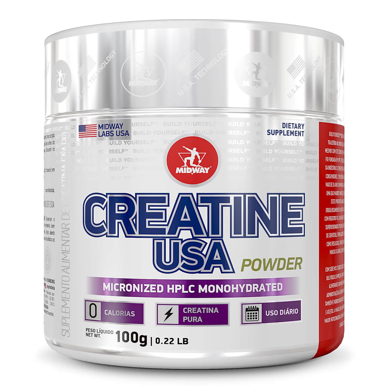 Creatine USA Powder 100 g  Sem sabor