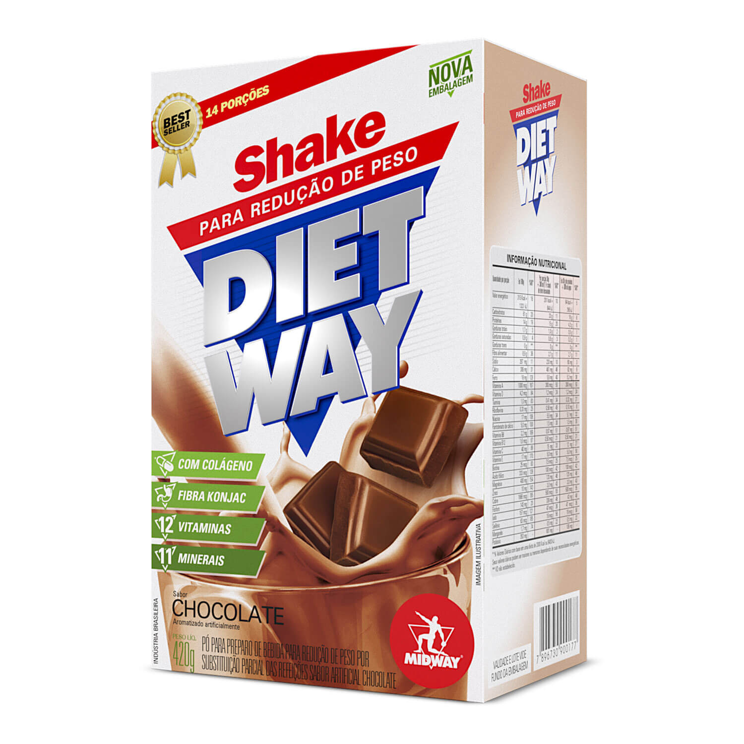 Diet Way 420 g  Chocolate