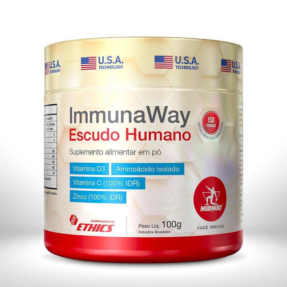 IMMUNA WAY ESCUDO HUMANO 100 g  Sem sabor