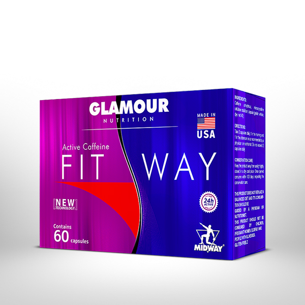 Fit Way 60 cápsulas  Sem sabor