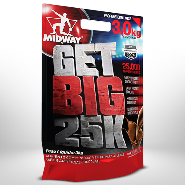 Get Big 3Kg  Chocolate