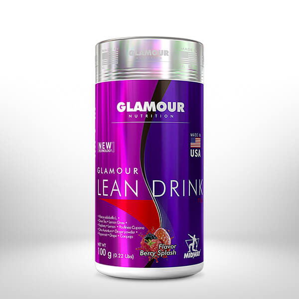Glamour Lean Drink 100g  Berry Splash