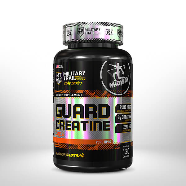 Guard Creatine 120 cápsulas  Sem sabor