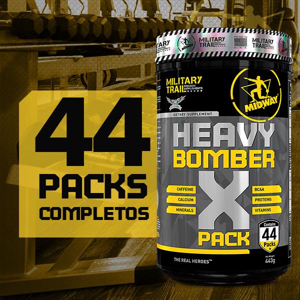 Heavy Bomber X Pack 44 sachês  Sem sabor