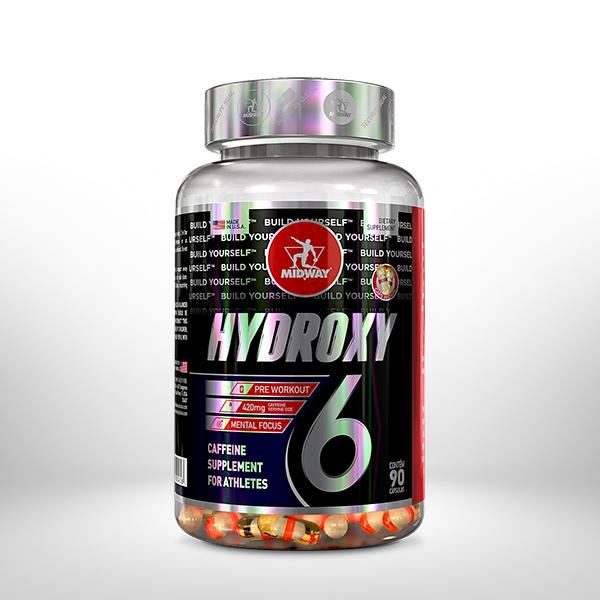 Hydroxy 6 90 cápsulas  Sem sabor