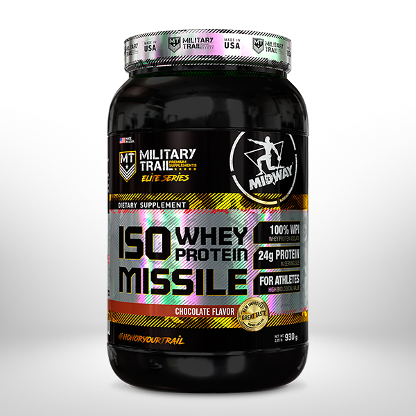 Iso Whey Protein Missile 930g  Chocolate