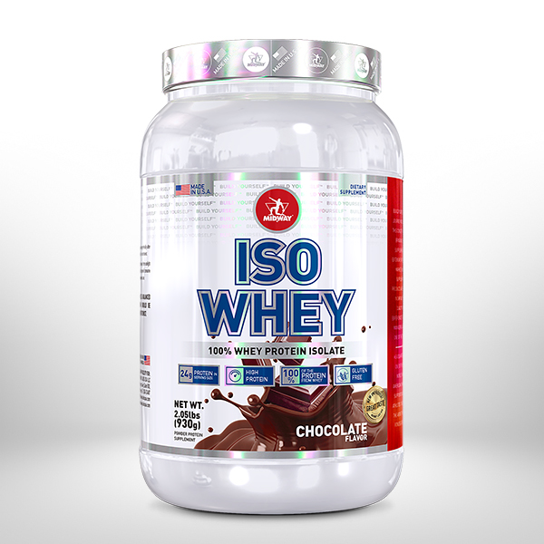 Iso Whey Protein USA 930g  Chocolate