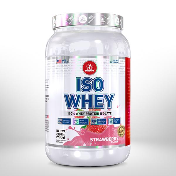 Iso Whey Protein USA 930g  Morango