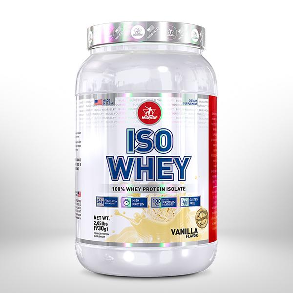Iso Whey Protein USA 930g  Baunilha