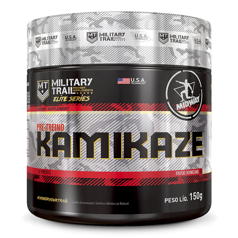 Kamikaze Pre-Workout 150 g  Frutas Vermelhas