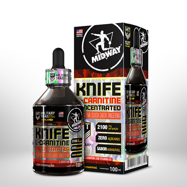 L-Carnitine Knife Concentrated 100ml  Tangerina