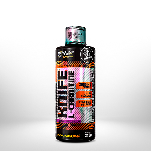 L-Carnitine Knife 245ml  Guaraná com Açaí