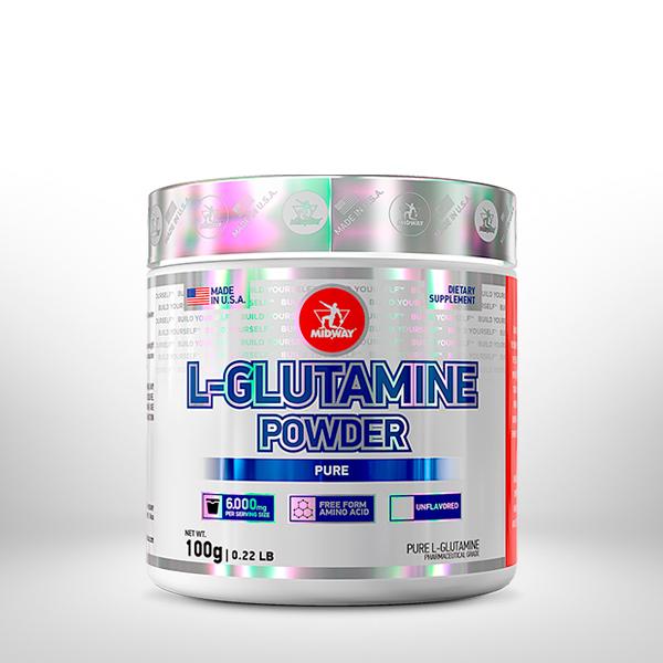 Pure L-Glutamine 100g  Sem sabor