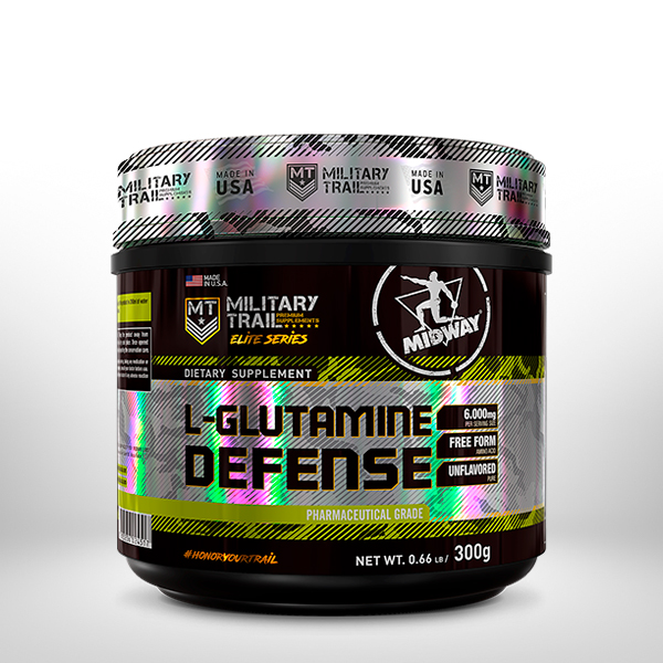 L-Glutamine Dfense 300g  Sem sabor