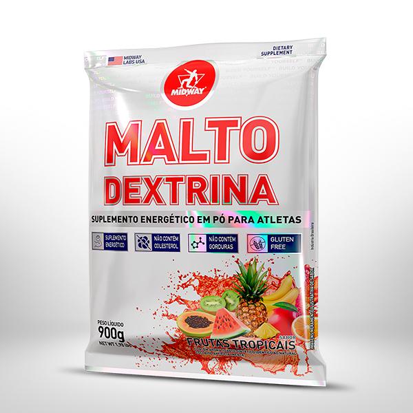 Maltodextrina 900g  Frutas Tropicais