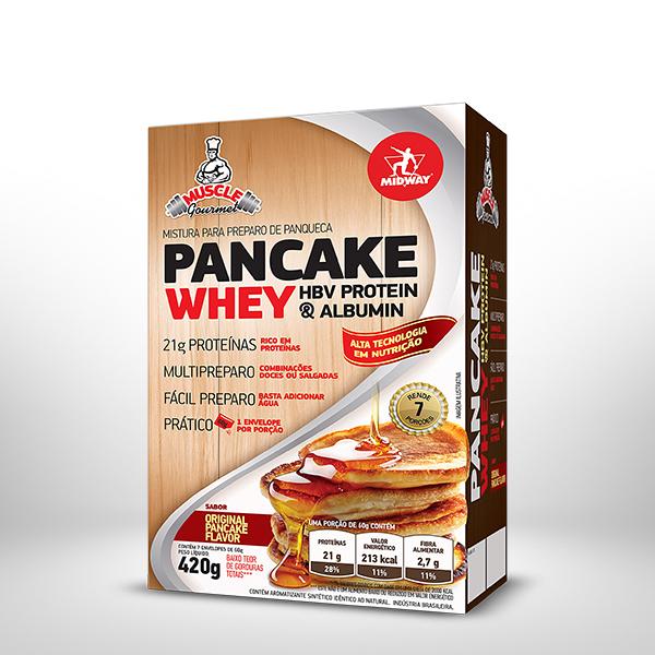 Pancake Whey 420g  Original Pancake Flavor