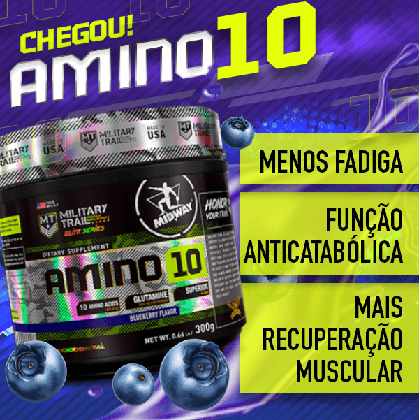 Amino 10 Powder 300g  Blueberry