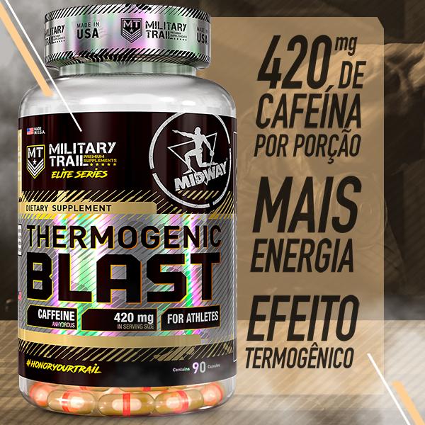 Thermogenic Blast 90 cápsulas  Sem sabor