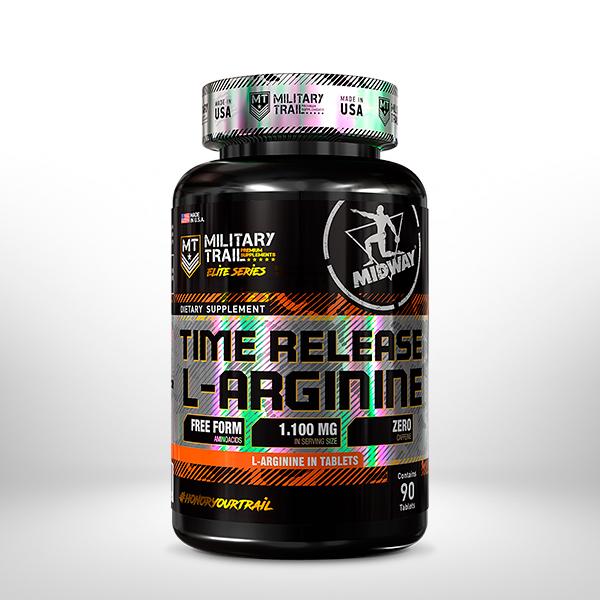 Time Release L-Arginine 90 tablets  Sem sabor