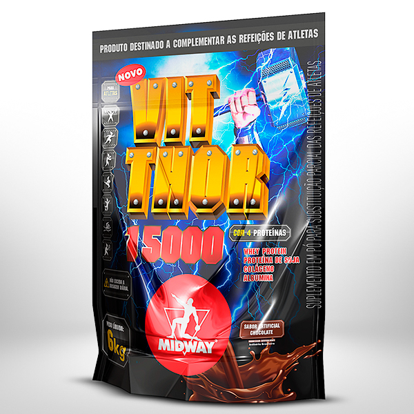 Vit Thor 6Kg  Chocolate